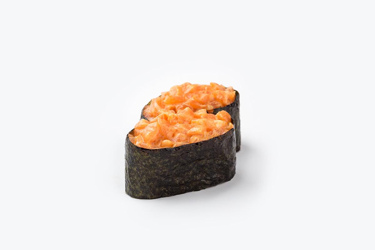 гункан спайсі лосось сет